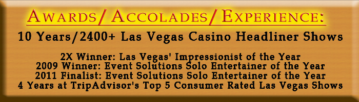 Award Winning Corporate Entertainer for Las Vegas Corporate Events