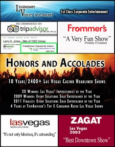Top rated Corporate Entertainment - Las Vegas, San Diego, Chicago, Orlando